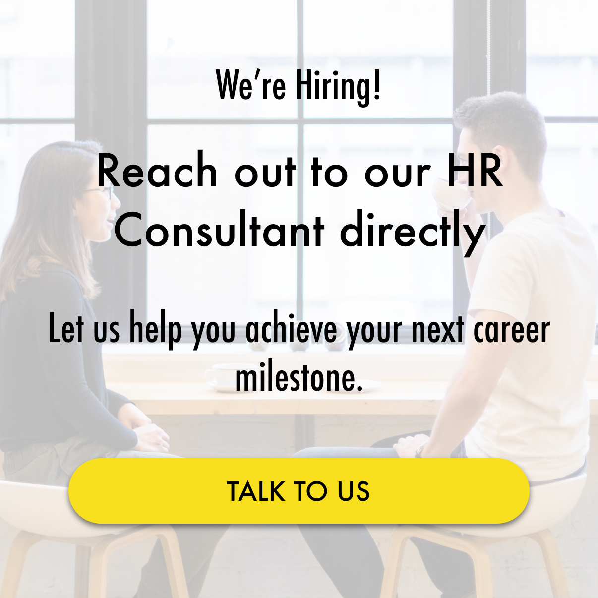 Prodigy Labs is hiring! Talk to our HR consultant. Let us help you achieve your next career milestone.